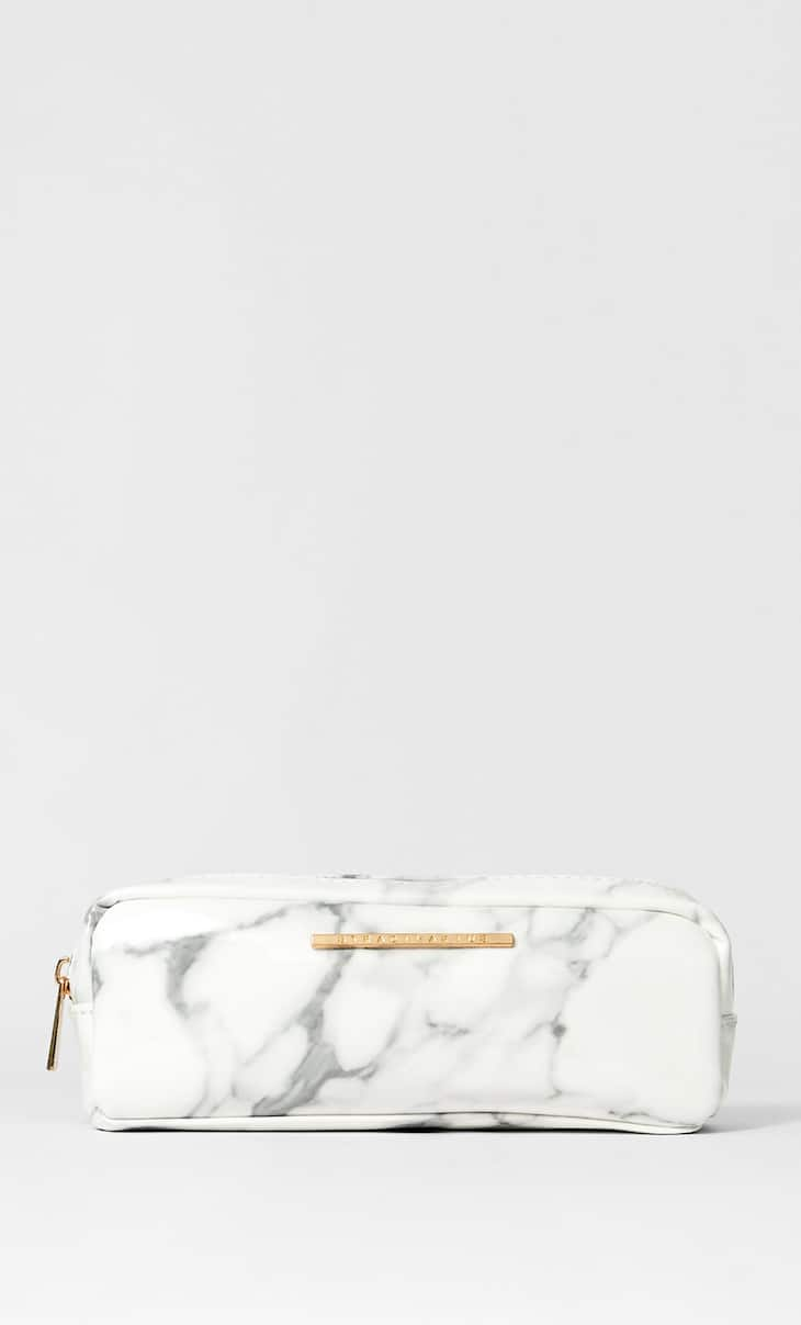 Marble print case