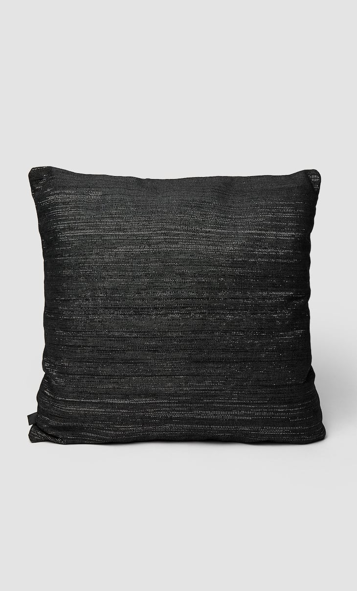 Shiny cushion cover