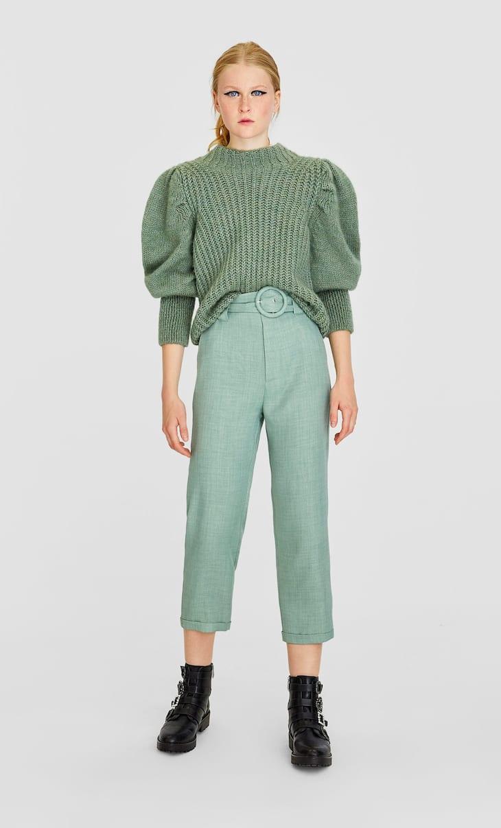 Proste spodnie w rustykalnym stylu