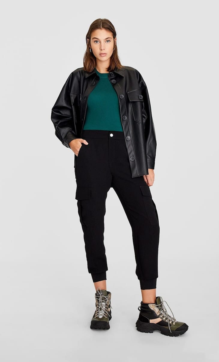 Slouchy cargo trousers