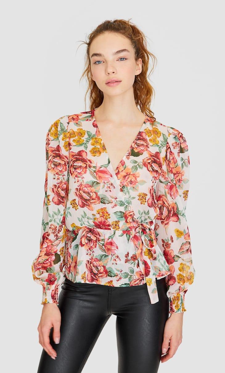 Κρουαζέ φλοράλ πουκάμισο