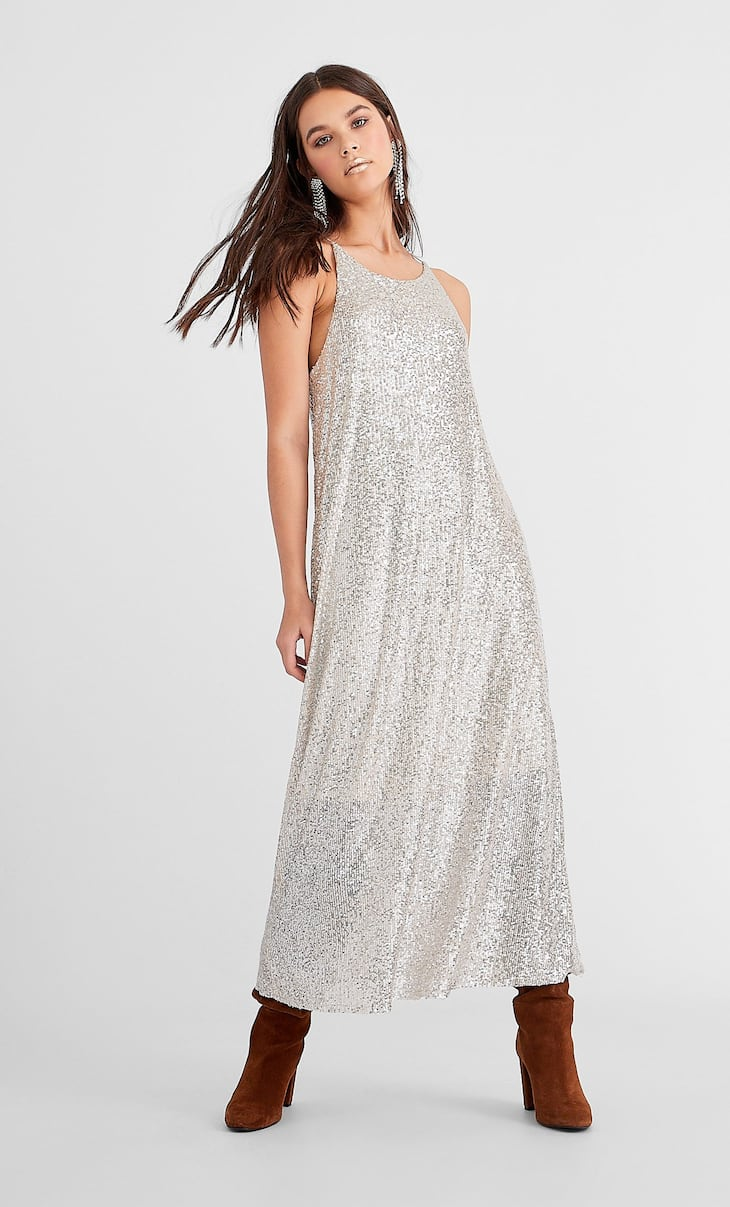 Sequin midi dress