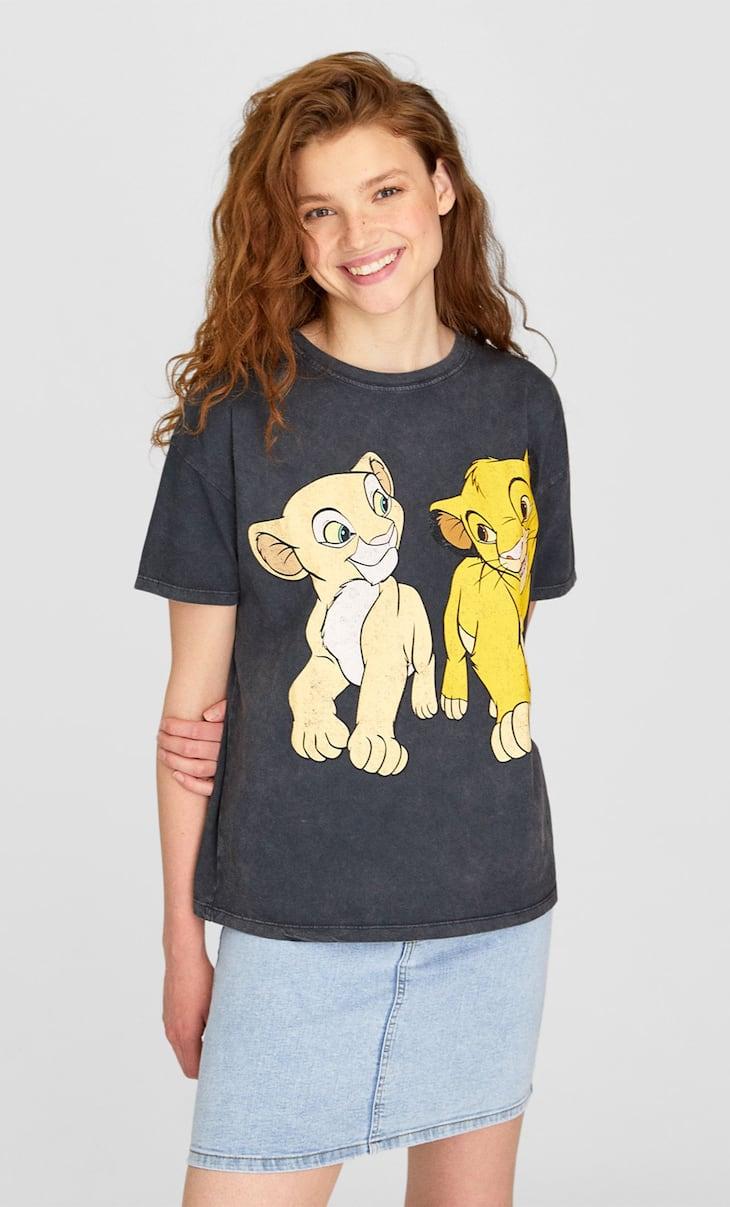 T-shirt da Disney com o Rei Leão