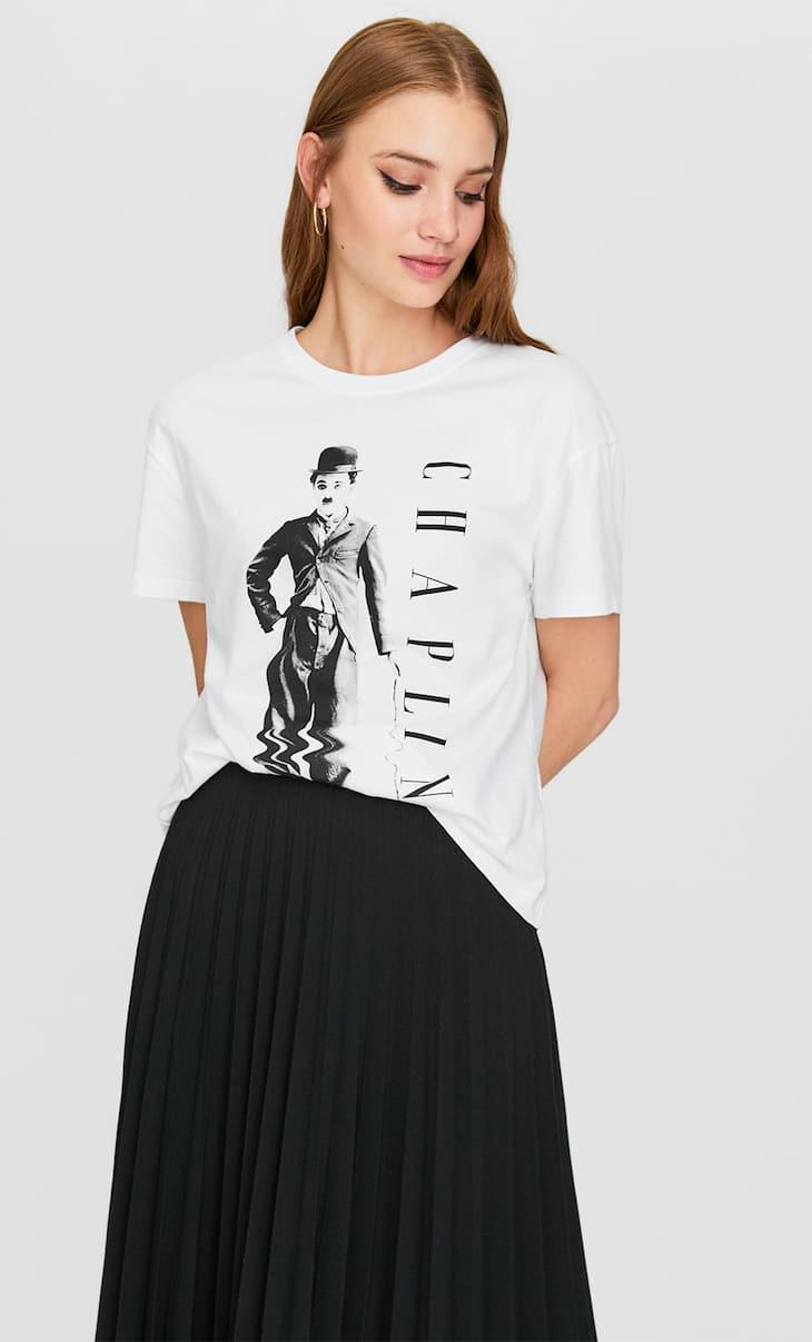 Camiseta Chaplin