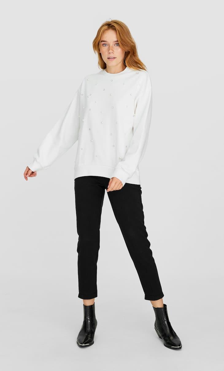 Pearly sweatshirt