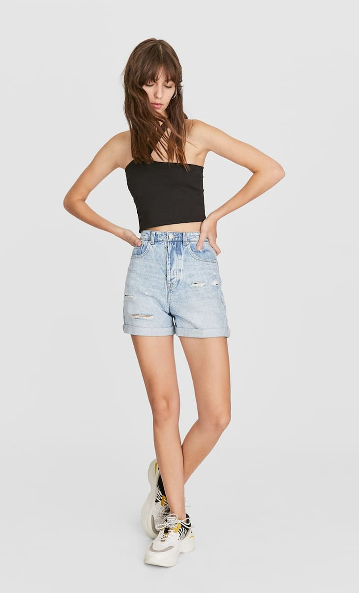 Cut out cropped top