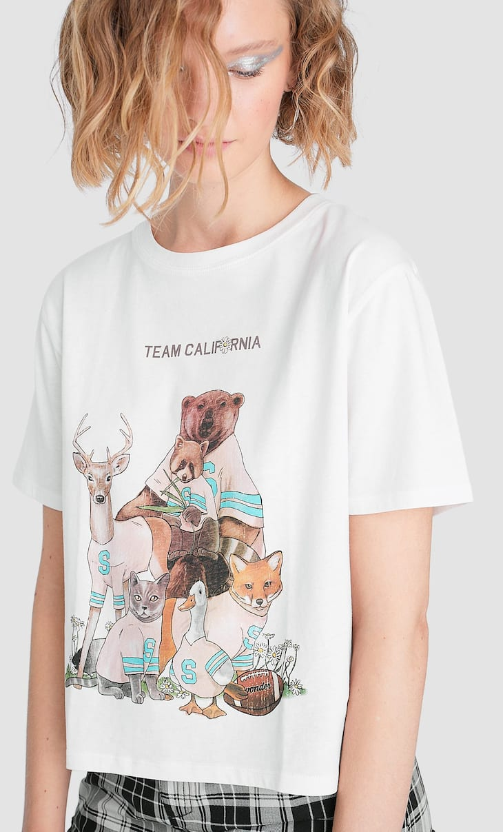 T-shirt team California