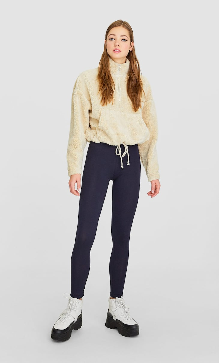 Basic ankle cropped leggings