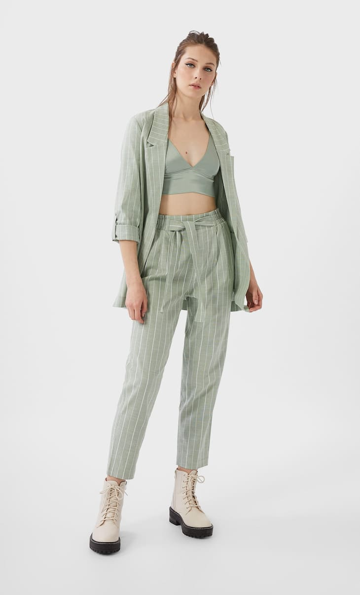 Rustic baggy trousers
