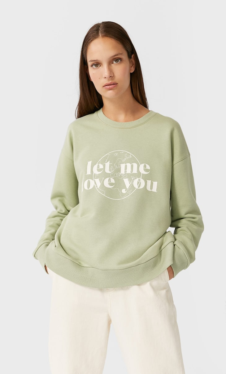 Bluza z napisem