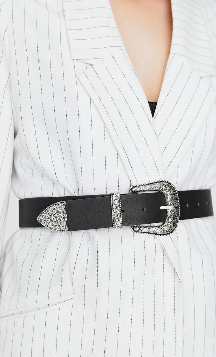Cintura cowboy larga
