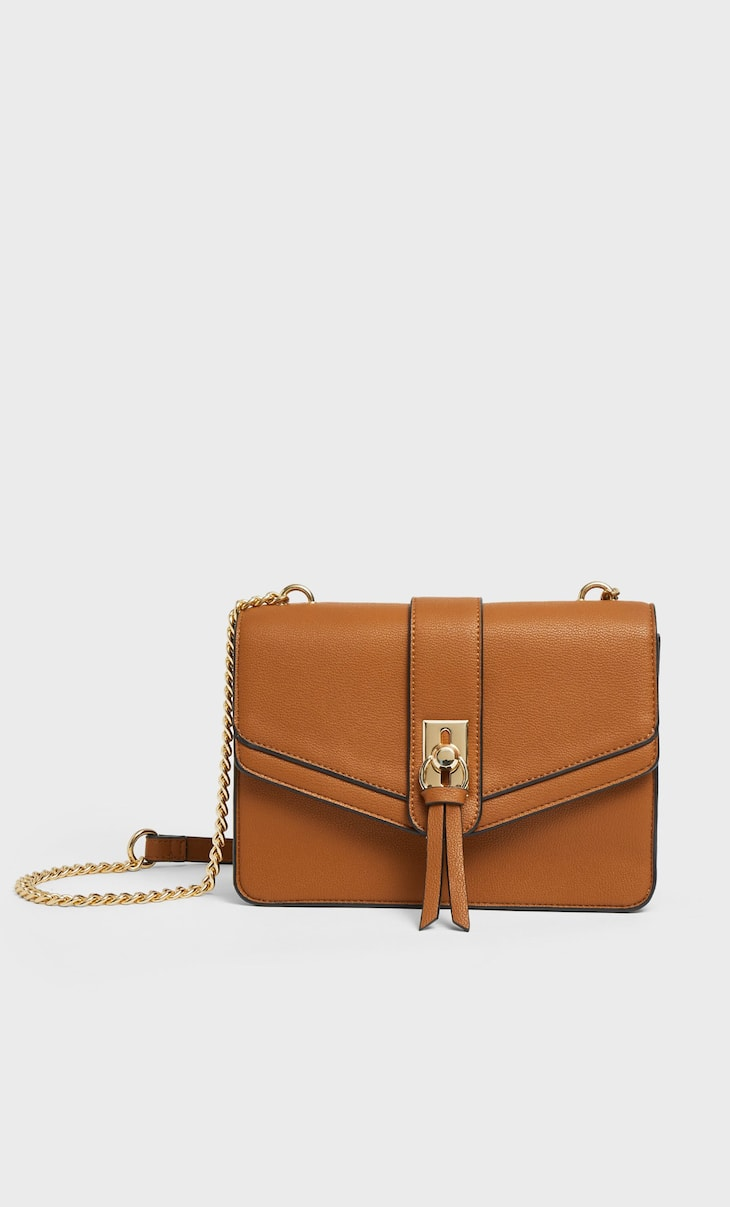 Crossbody bag with ring