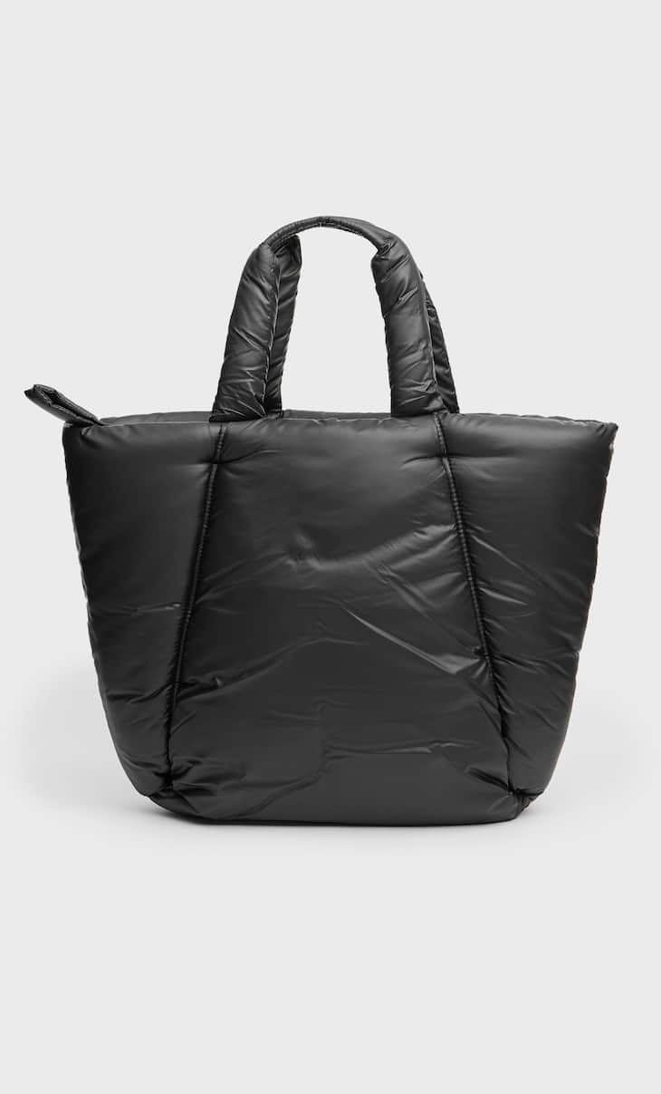 Padded tote bag