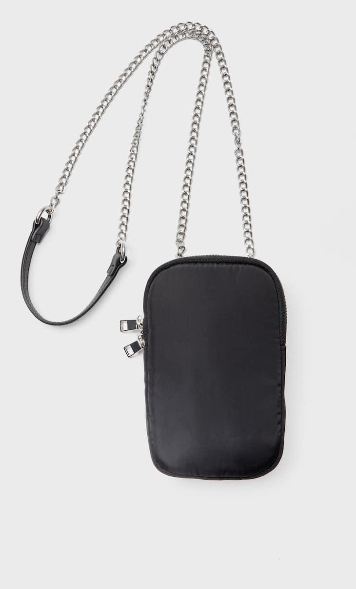 Bandolera smartphone tejido