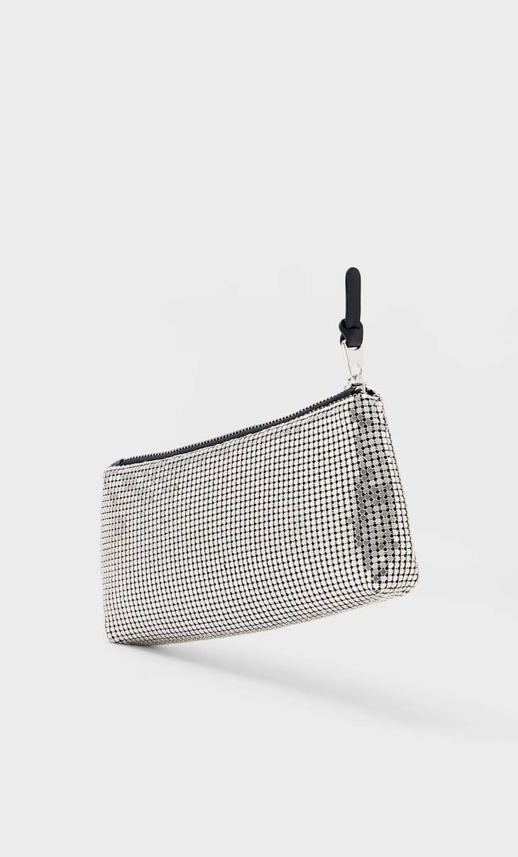 Metal mesh pencil case