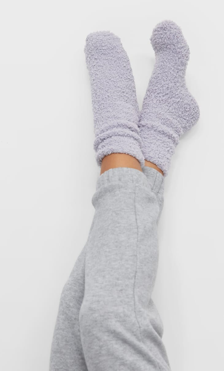Soft-touch socks