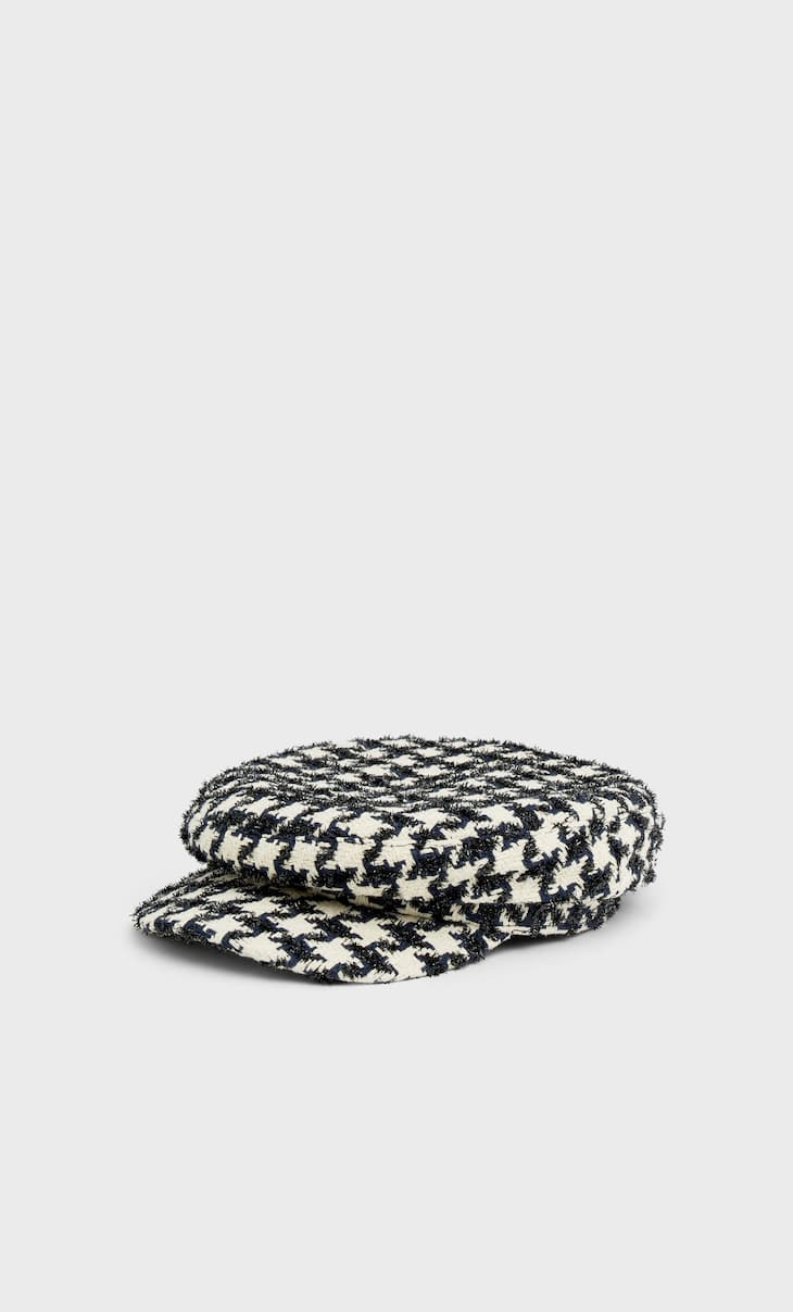 Printed nautical cap