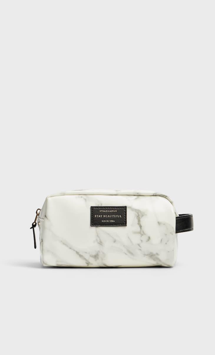 Neceser charol marmol
