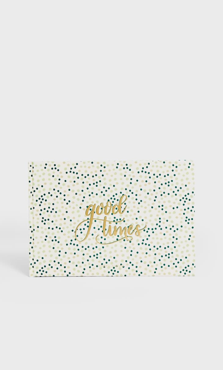 Polka dot photo album