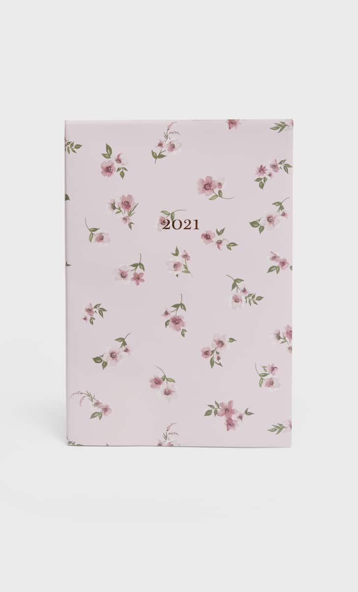 Floral 2021 diary