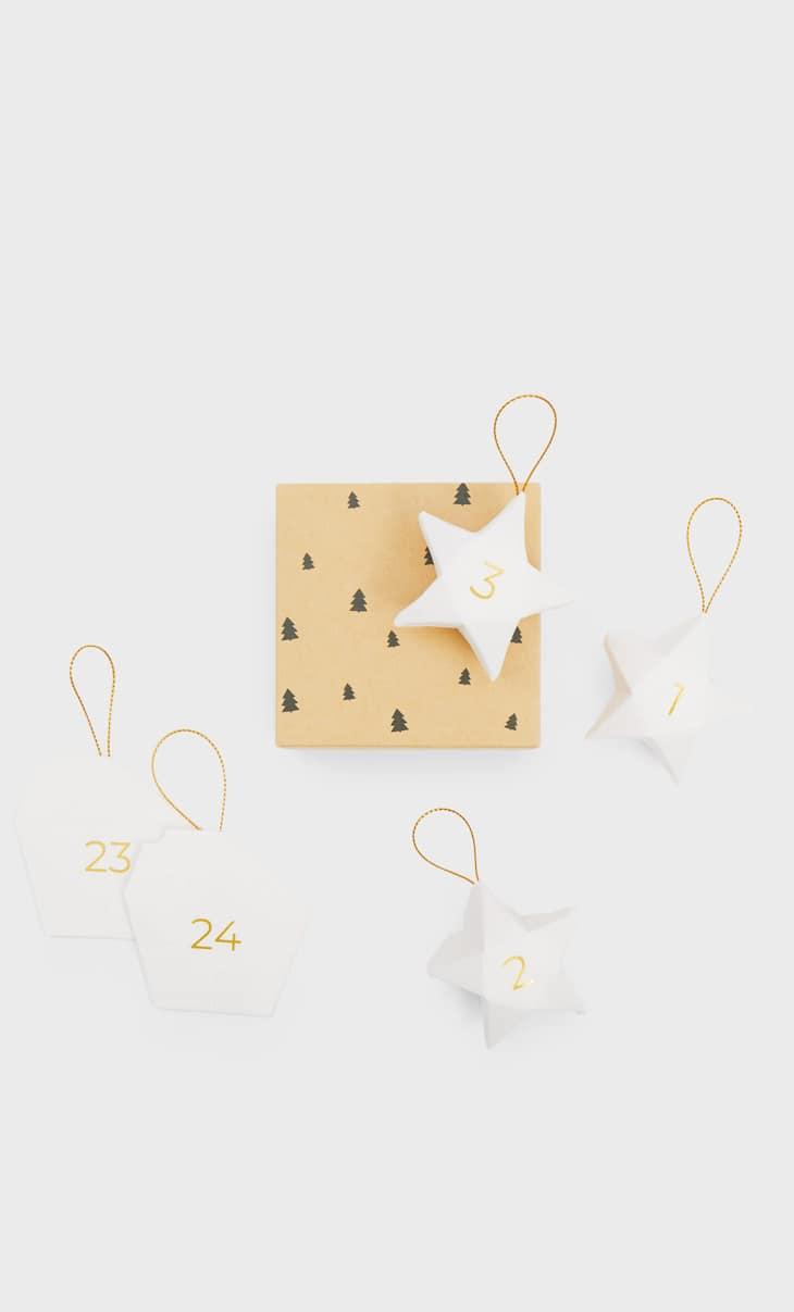 Petite boîte étoiles de Noël