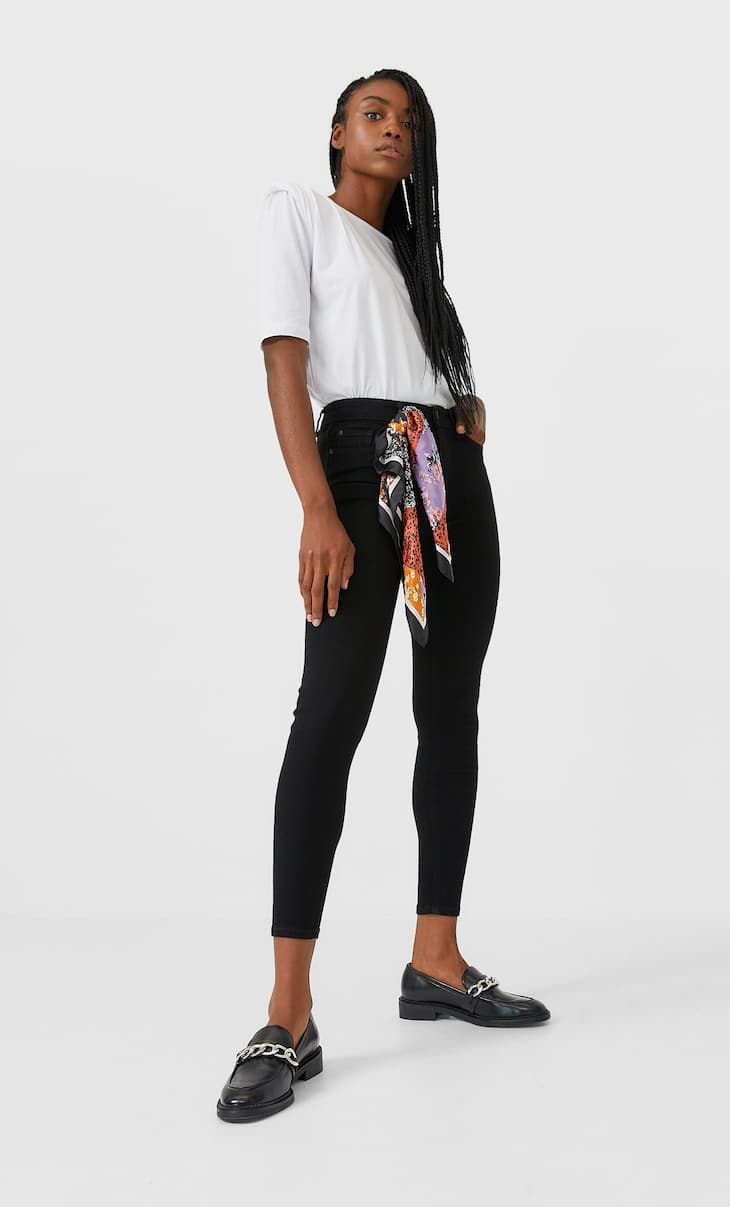 Jeans skinny taille basse