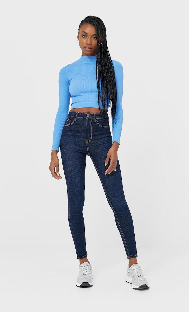 ג'ינס high waist