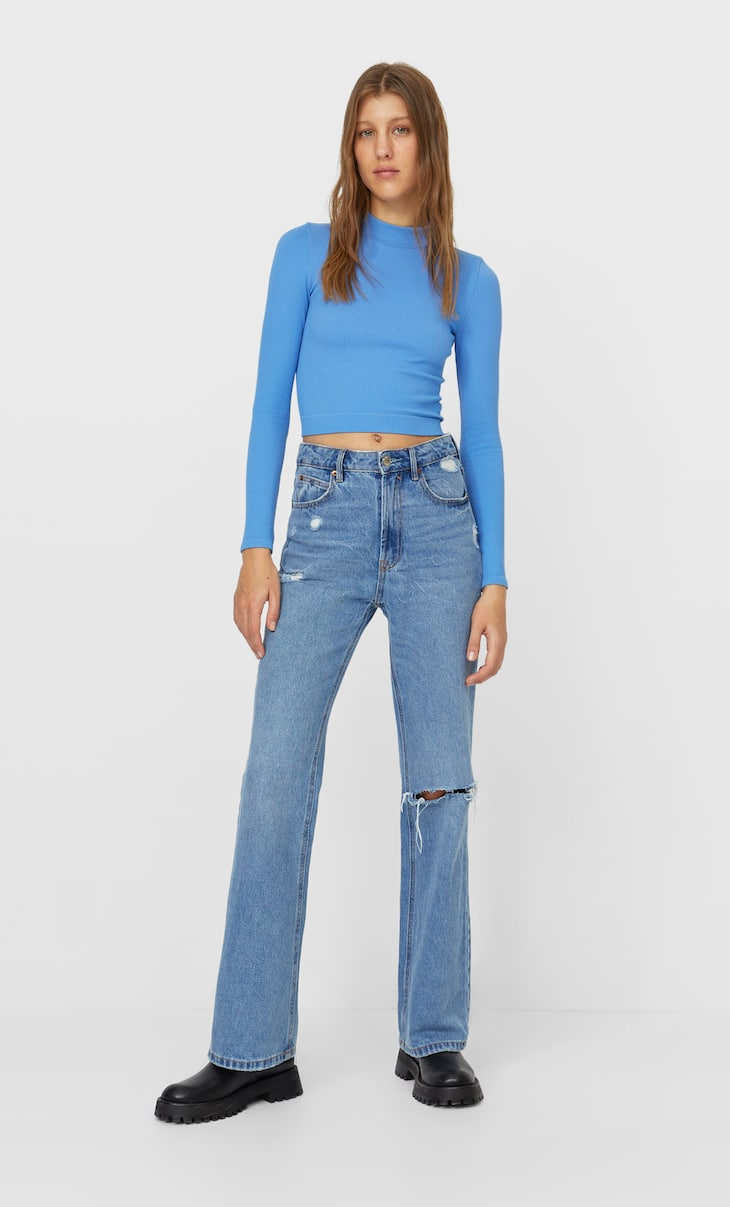 Jeans flare style vintage