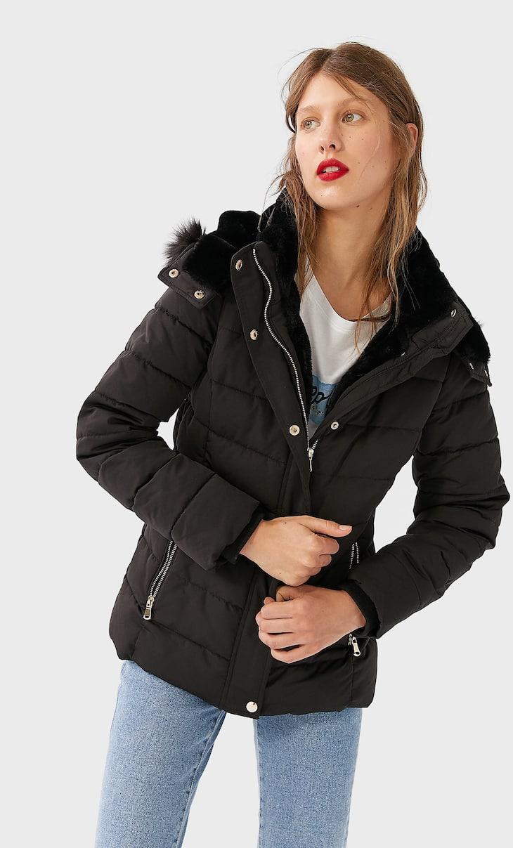 Куртка со съемным капюшоном