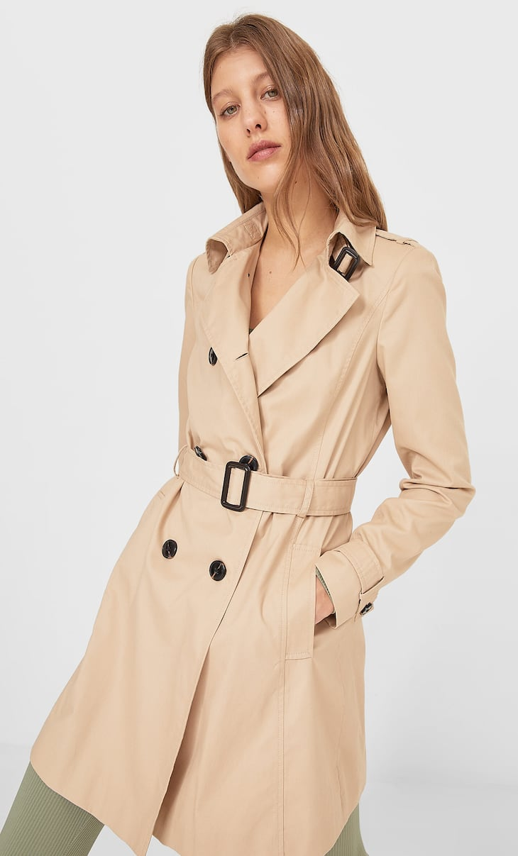 Basic trench coat