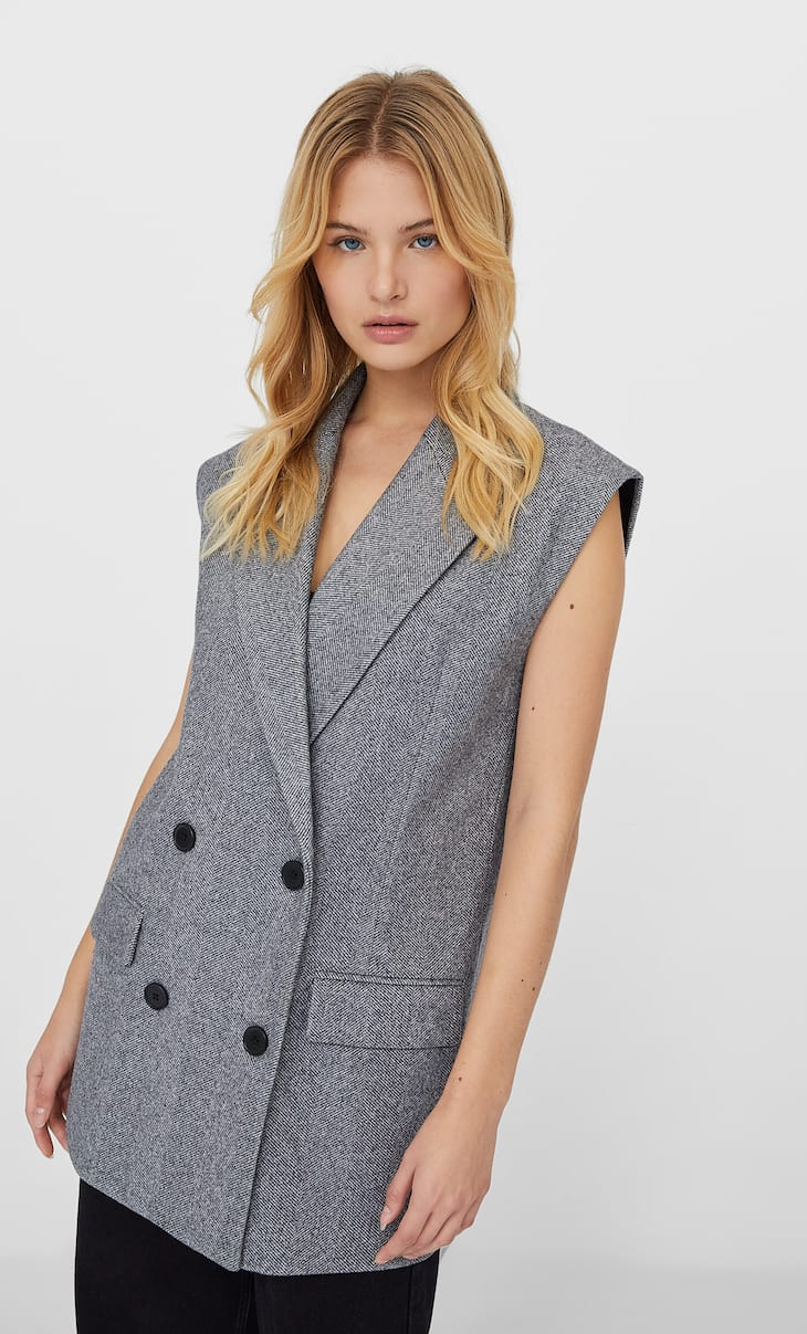 Oversized waistcoat