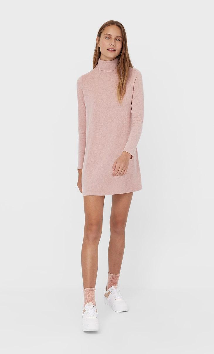 Soft-touch short dress
