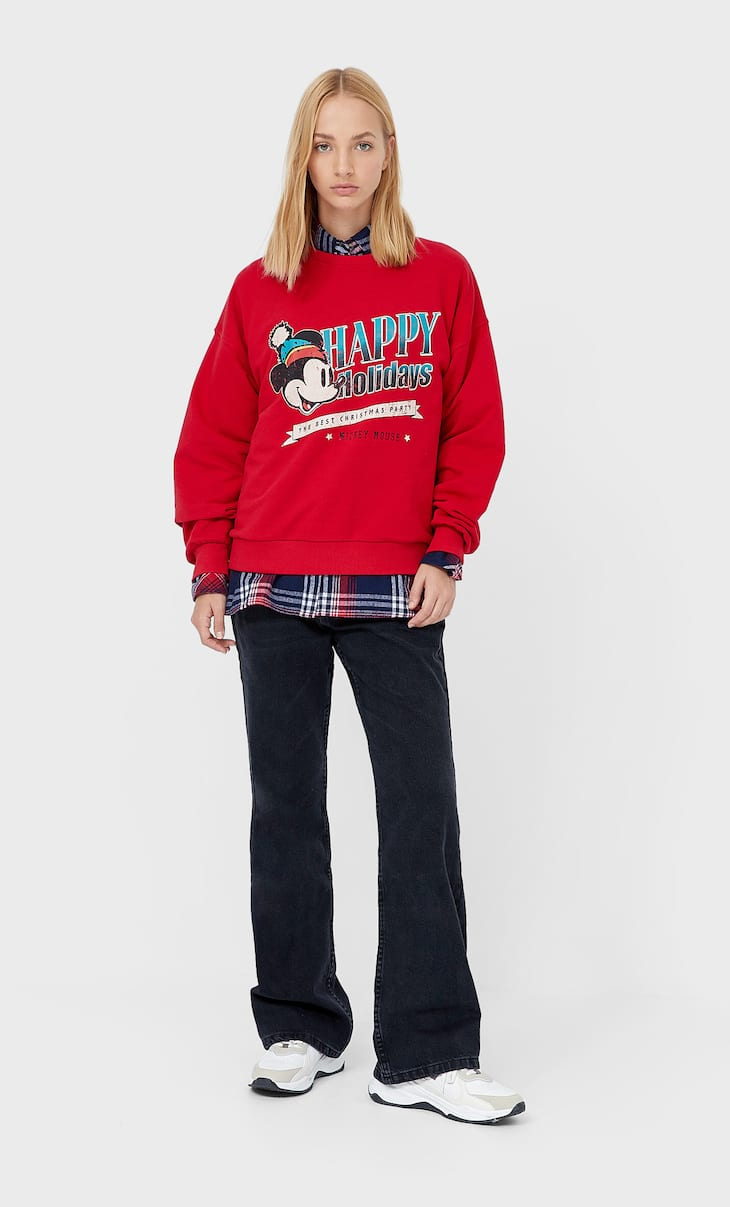 Mickey Mouse Christmas sweatshirt