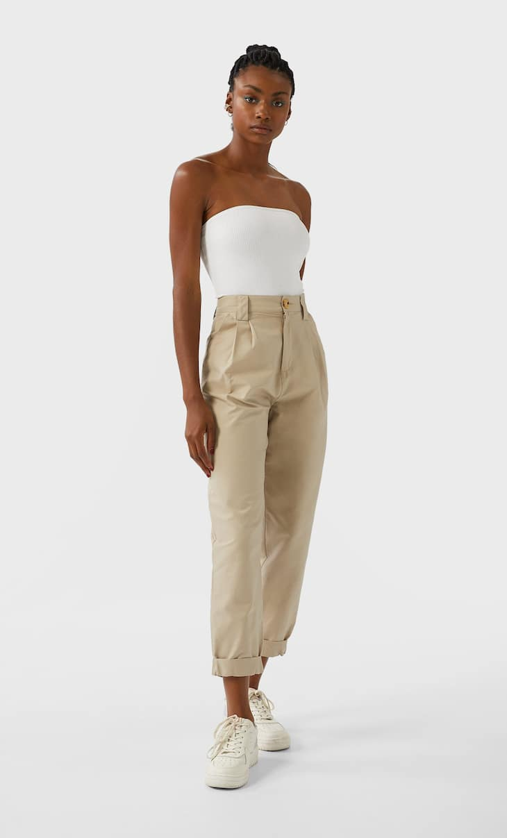 Slouchy trousers