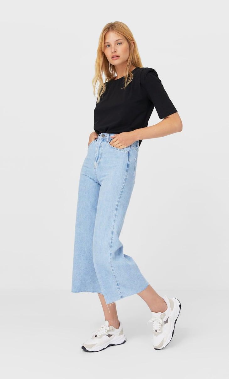 Jupe-culotte en jean