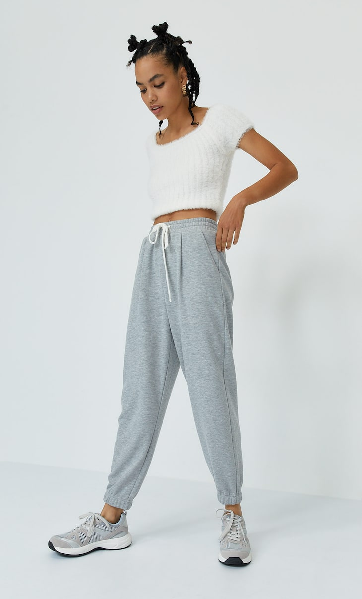 Slouchy joggingbroek