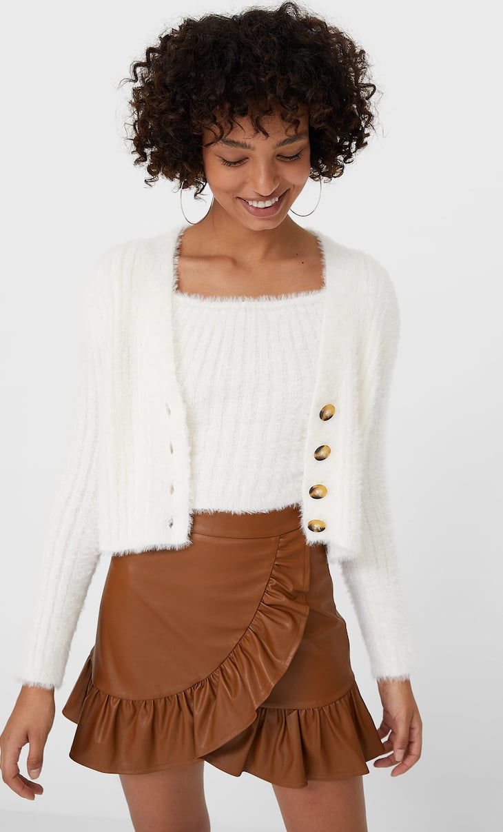 Soft-touch cardigan