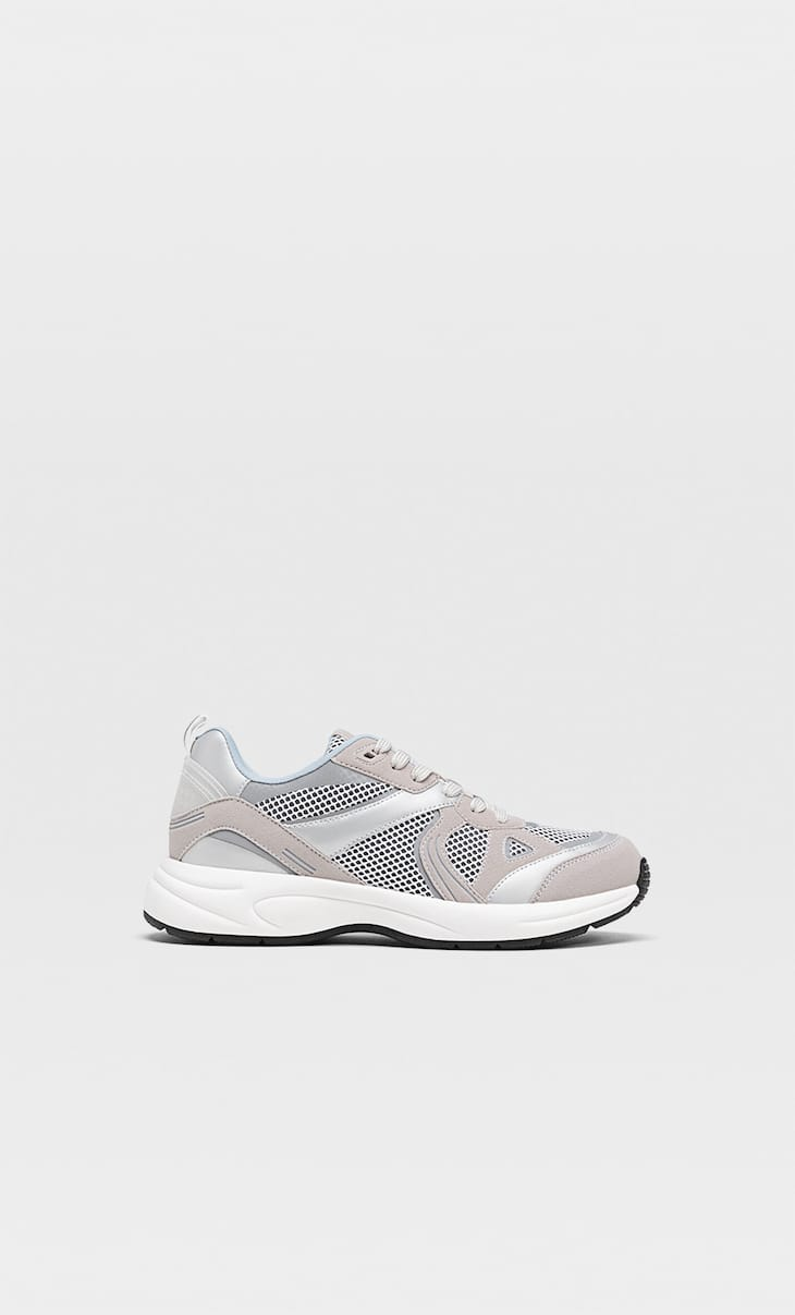 Trainers with mesh