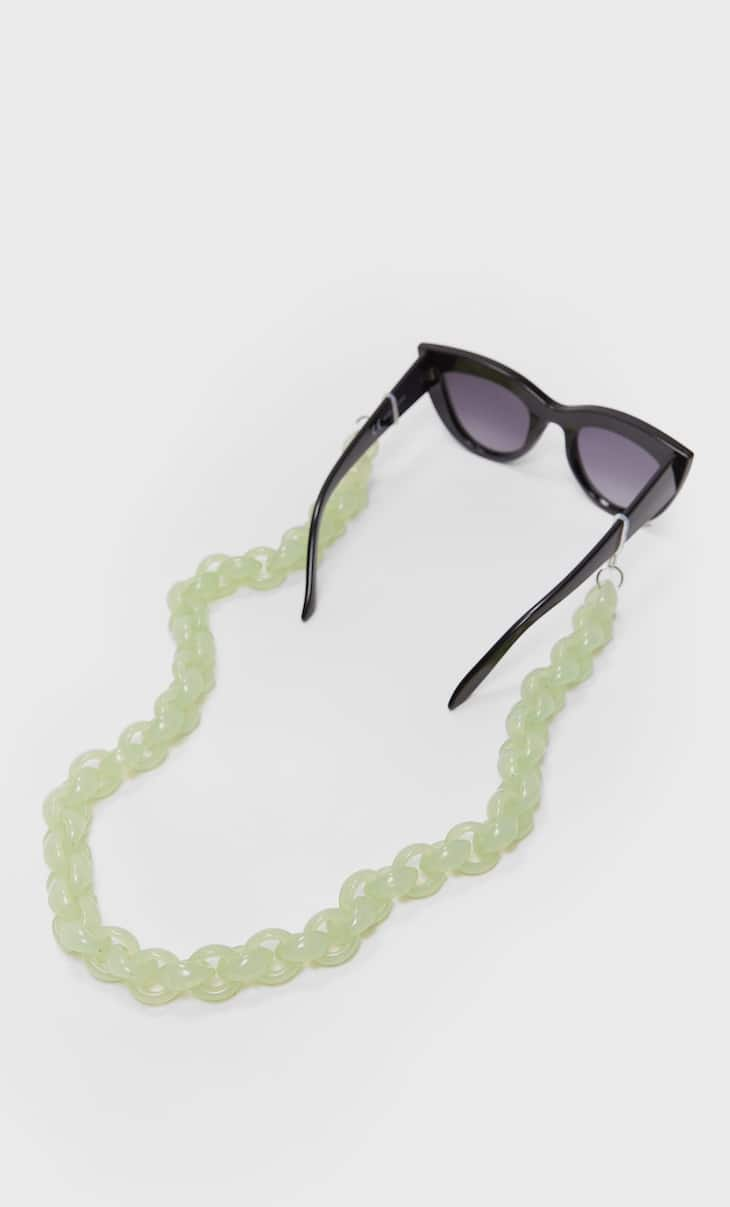 Resin glasses chain