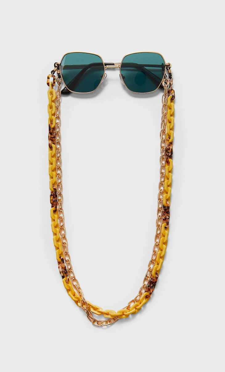 Thin glasses chain
