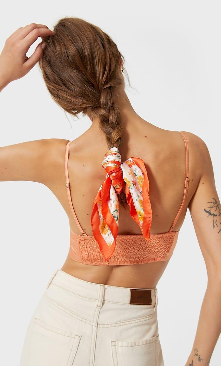 Haarband mit Blumenmuster