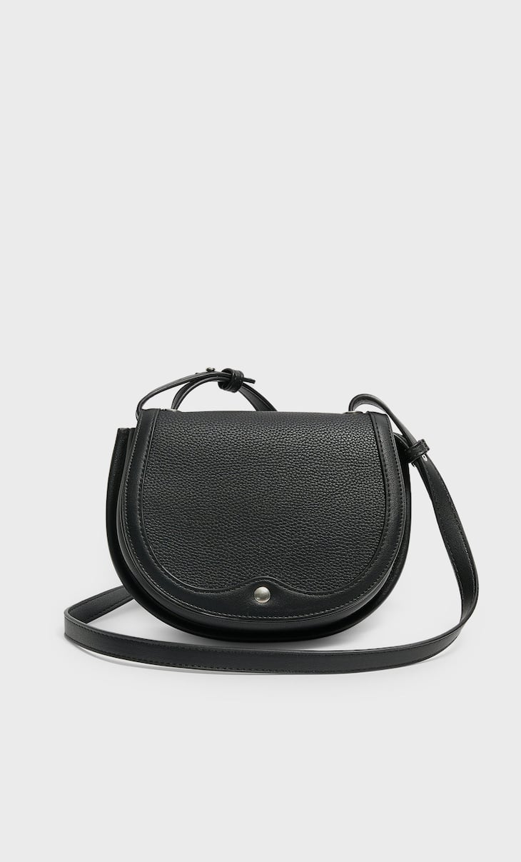 Basic crossbody saddle bag