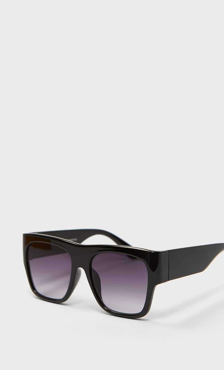 Screen resin sunglasses