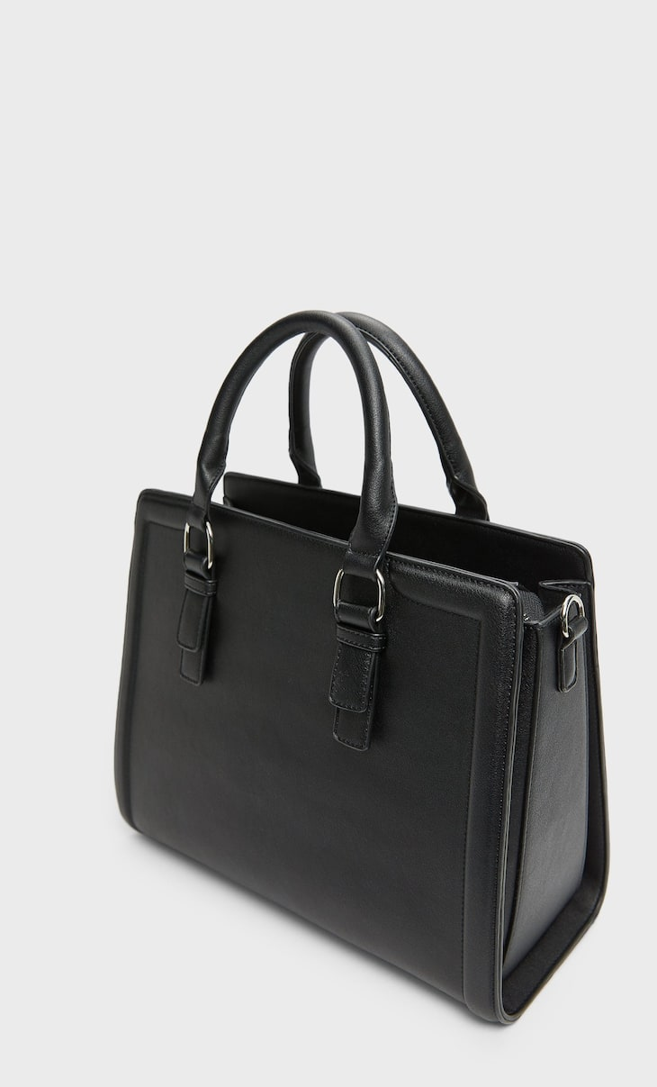 Rigid tote bag