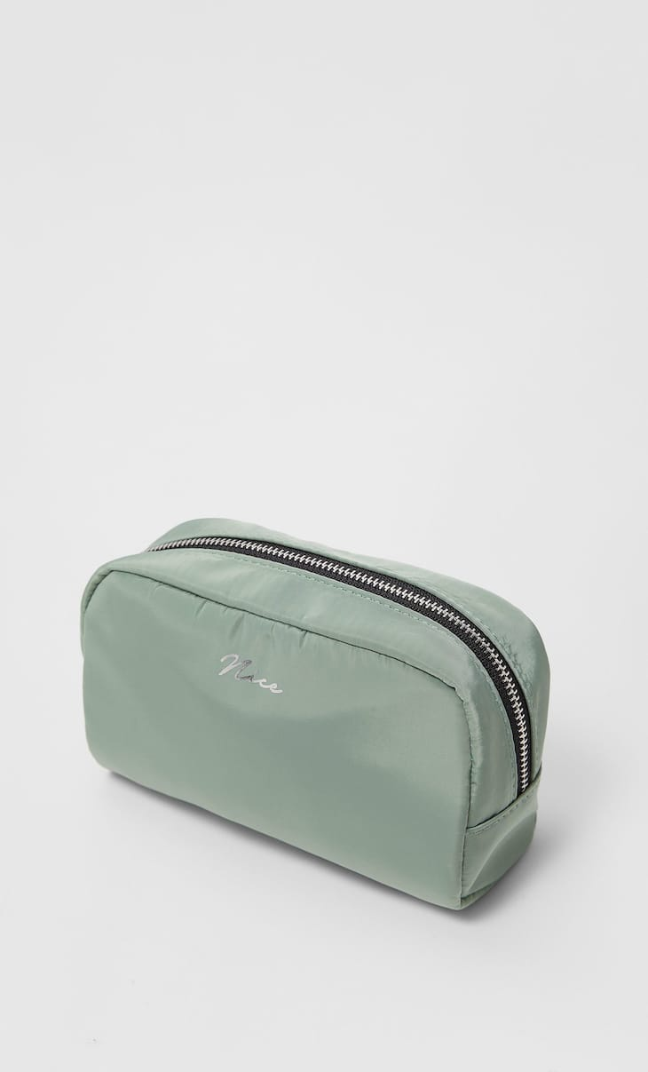 Nice nylon toiletry bag