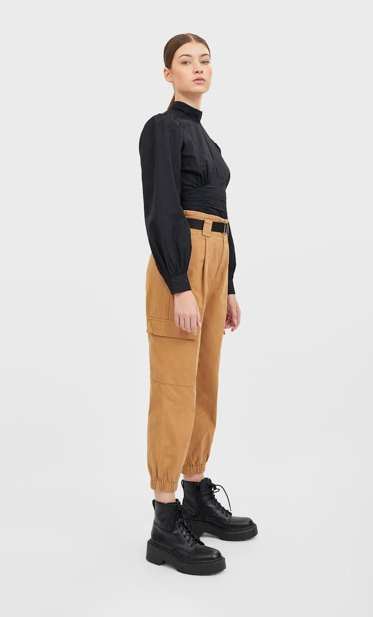 Pantalons de butxaques cinturó