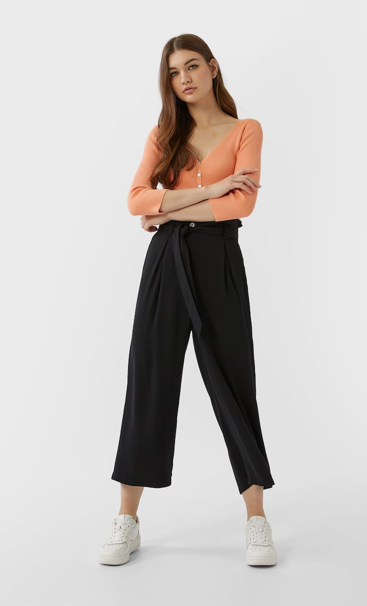 Flowing culottes