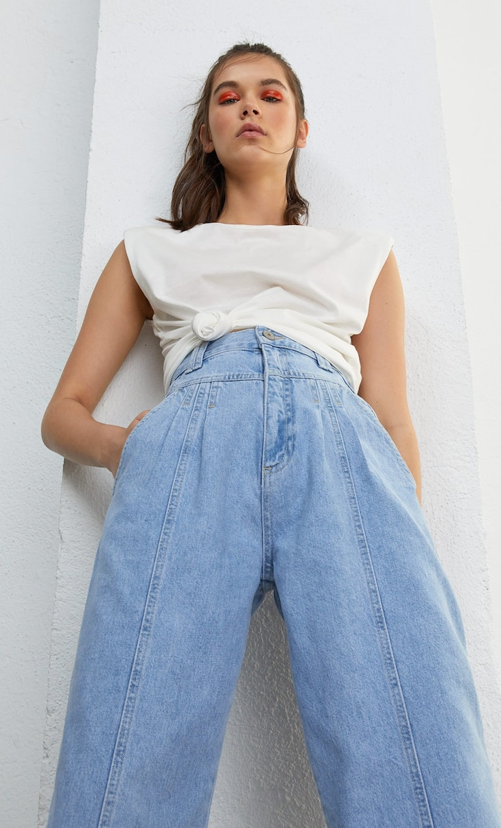 Slouchy vintage jeans
