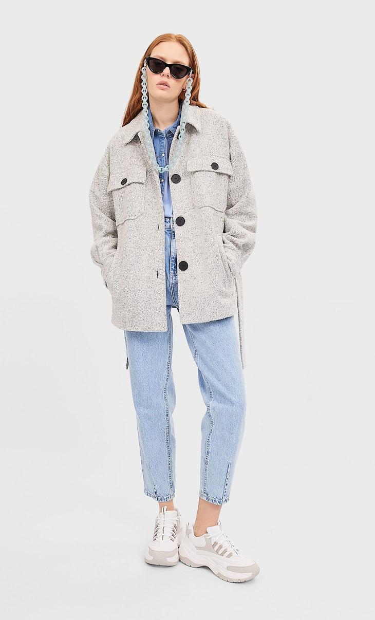 Abrigo tricot