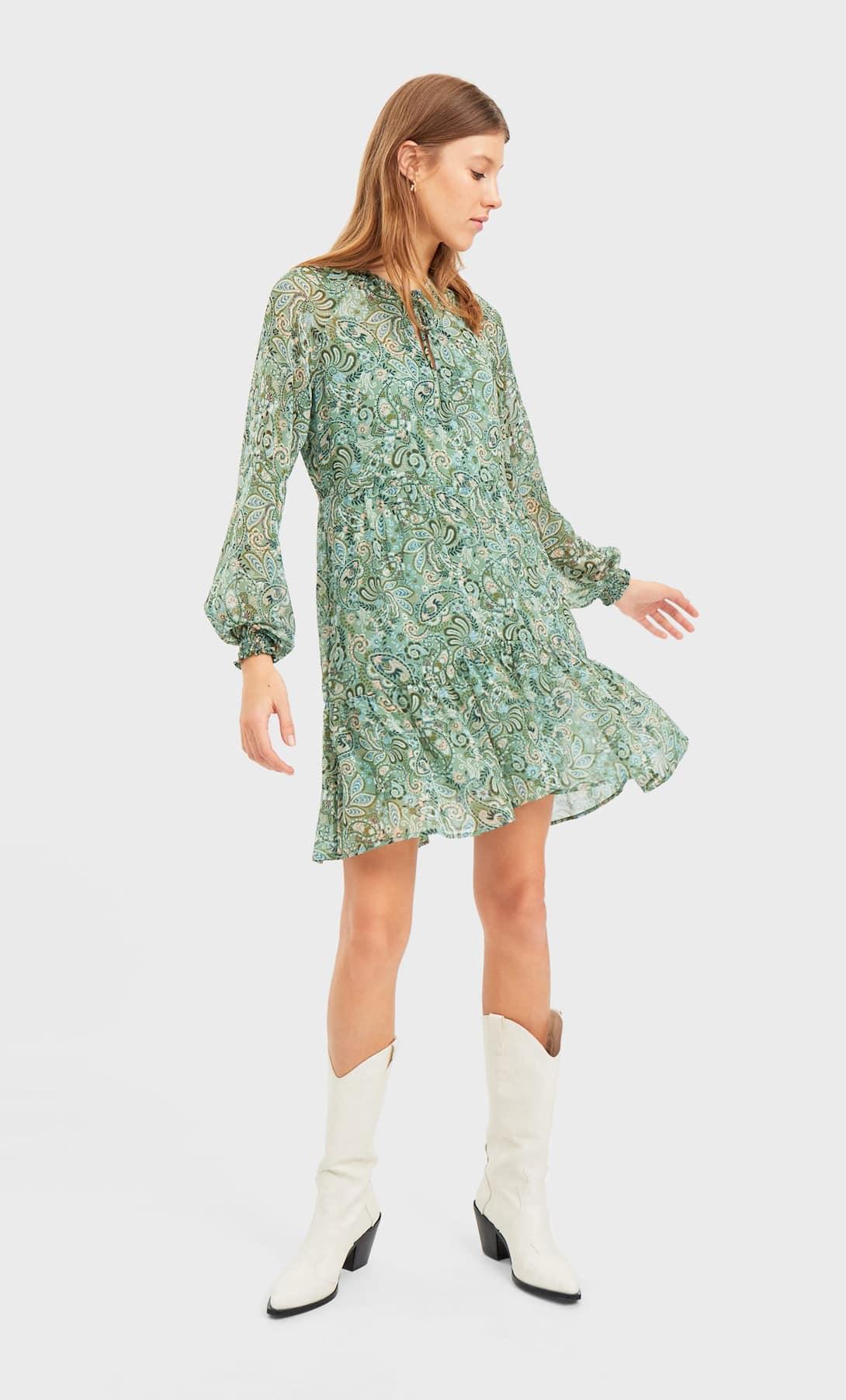 STR_Printed mini dress_2 лучшие платья на лето